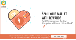 Freecharge cashback Offers