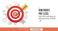 cashback on Freecharge