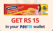 Paytm mcvities offer