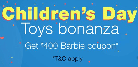 Amazon Childrens Day Offer