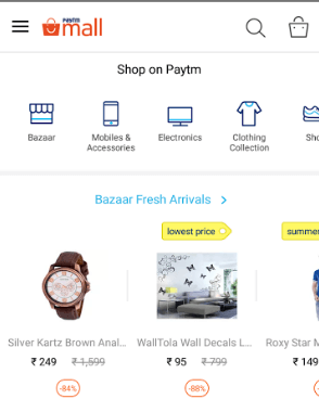 How To Use Paytm Mall App