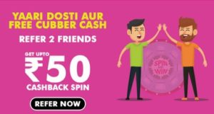 Cubber Referral Code