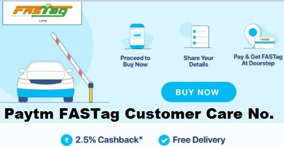 Paytm FASTag Customer Care Number 2020 Toll Free 24x7