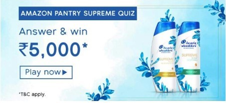 amazon pantry supreme quiz
