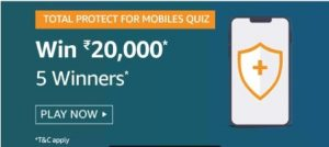 amazon total protect for mobile quiz