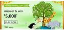 Amazon World Animal Day Quiz Answers Win ₹25,000