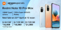Redmi Note 10 Pro Max Next Sale Date 5 May, Amazon Price In India