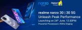 Realme Narzo 30 Next Sale   Launch Date 24th June 2021   Flipkart Price