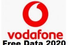 (100% Working) Vodafone Free Data 2020 Internet Tricks – Get 30GB 4G Data For 10 Days