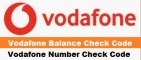 Vodafone Balance Check Code Number | All USSD Code