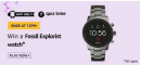 Amazon Quiz 7 August 2020 Answers Today Win Fossil Watch