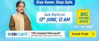 (13-16 June) Flipkart Big Saving Days Sale – 80% OFF Deals