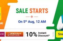(5-9 August) Flipkart Big Saving Days Sale – 80% OFF Deals