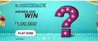 Amazon Great Indian Festival Quiz Answers Win Rs.1,00,000