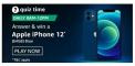 Amazon Quiz 24 January 2021 Answers Win Apple iPhone 12