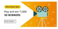 Amazon Movie Mania Quiz Answers Win – ₹1,000 Pay Balance
