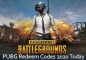PUBG Redeem Codes 2020 August | PUBG Mobile Redeem Codes